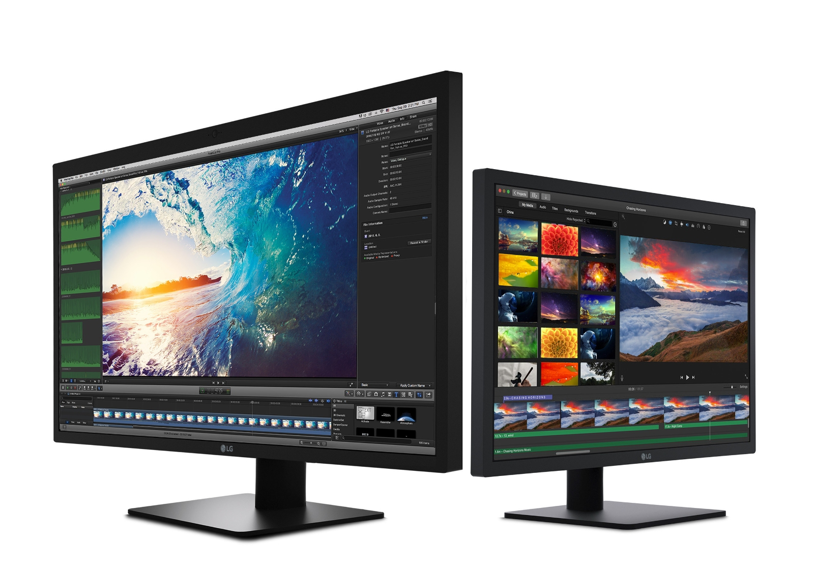 LG UltraFine 5K/4K Displays Designed For Ultimate Mac User Experience