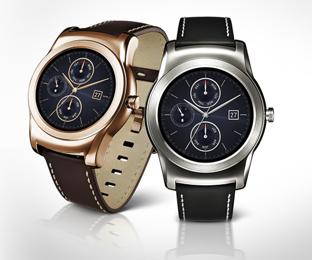 LG launches gold and leather Urbane Luxe smartwatch.
