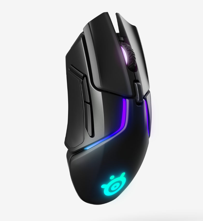 A stunning Rival 650 wireless gaming mouse
