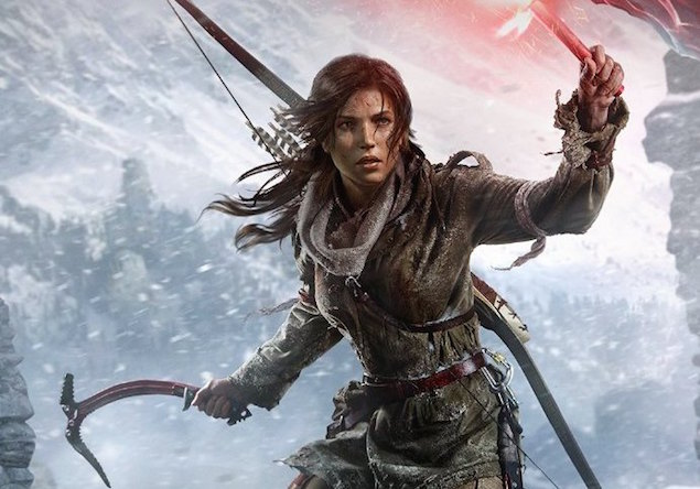 Square Enix Announces Rise of the Tomb Raider for Steam, Windows 10, and PlayStation 4.