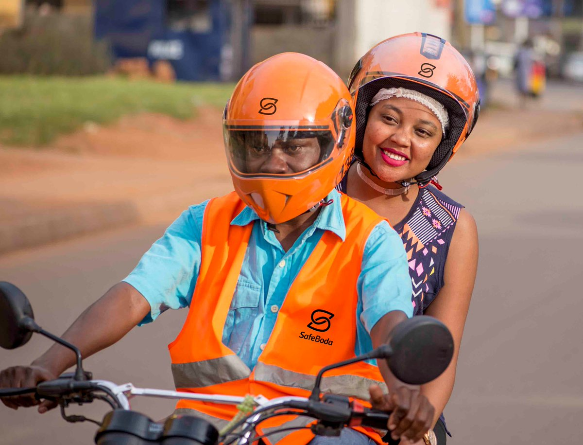 Howto share your Safe Boda Credit with others