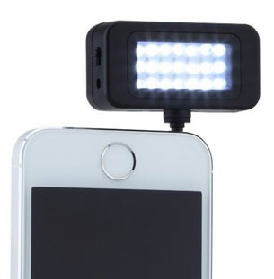 URPOWER portable spotlight will help you take those nice Selfies even at night.