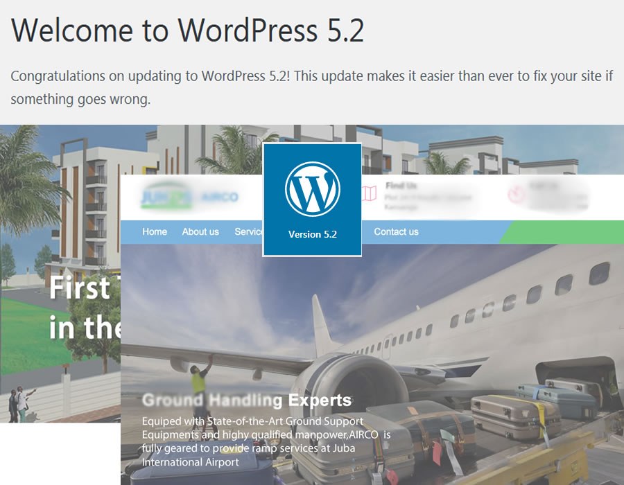 Upgrade your Wordpress website quickly to Wordpress 5.2 (W5.2)