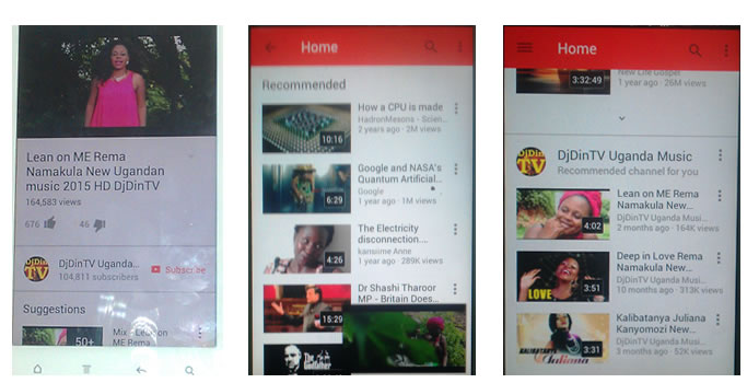 YouTube Mobile App redesigned – looks so good and easy to use.