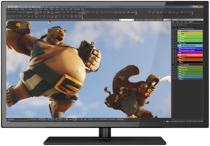 Amazon releases Lumberyard, a new game engine