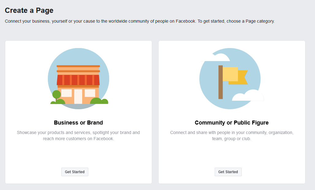 Howto create a Facebook Company Page without having a personal