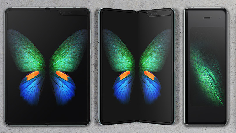 Samsung looks to future with first foldable phone