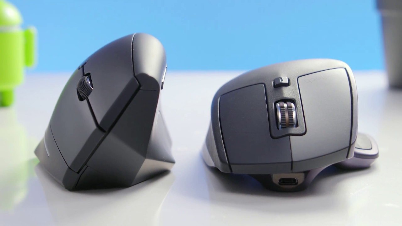 Vertical Computer Mouse for Business